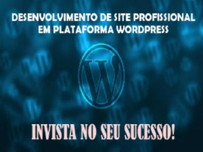 Desenvolvimento de Site Profissional em Plataforma WordPress
